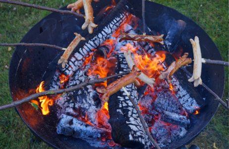 Feuerschale Gusseisen Grillen