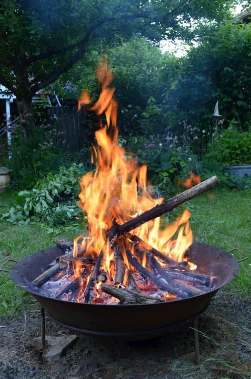 Feuerstelle im Garten - Die Feuerschale